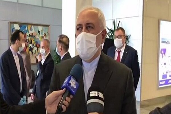 Zarif to consult about six-party regional coop. with Russia