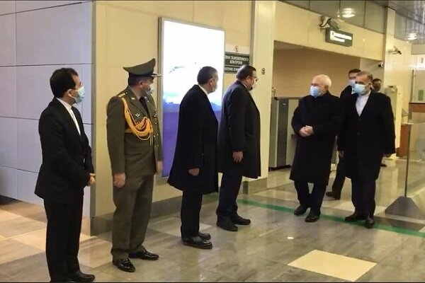 İran Dışişler Bakanı Zarif Moskova'ya gitti
