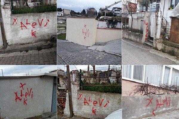 Türkiye'de Alevi ailelerin evleri işaretleniyor
