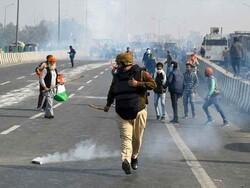 بھارت میں کسانوں کا احتجاج جاری/ ہریانہ اور پنجاب مکمل طور پر بند