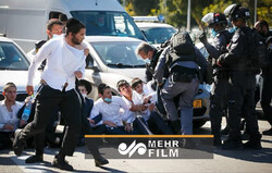 VIDEO: Clashes in occupied territories over COVID restriction