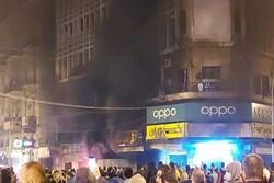 زخمی شدن ۳۱ نظامی در جریان اعتراضات طرابلس لبنان
