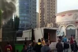 درگیری میان معترضان و نیروهای امنیتی در طرابلس لبنان
