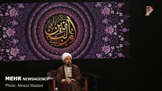 عزاداری وفات حضرت ام البنین (س) در هیئت میثاق با شهدا