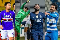 Four Iranians among nominees for AFC Intl. Player of Week