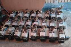 کشف ۵۷ دستگاه استخراج ارز دیجیتال قاچاق در زرندیه