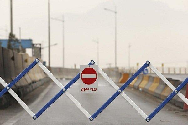 ممنوعیت تردد در خوزستان