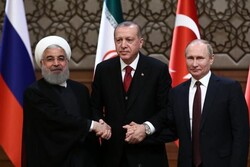 Iran, Turkey, Russia stress support for an independent Syria