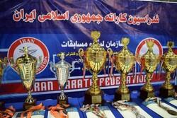 کاراته کاهای کردستانی عنوان سومی سوپر لیگ کشور را کسب کردند