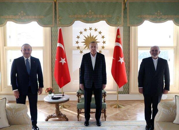 Zarif, Erdoğan ile görüştü