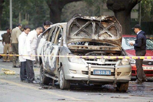 بھارت میں اسرائیلی سفارتخانے کے قریب دھماکہ