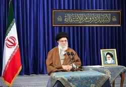 لقاء الإمام الخامنئي مع مادحي اهل البیت علیهم السلام