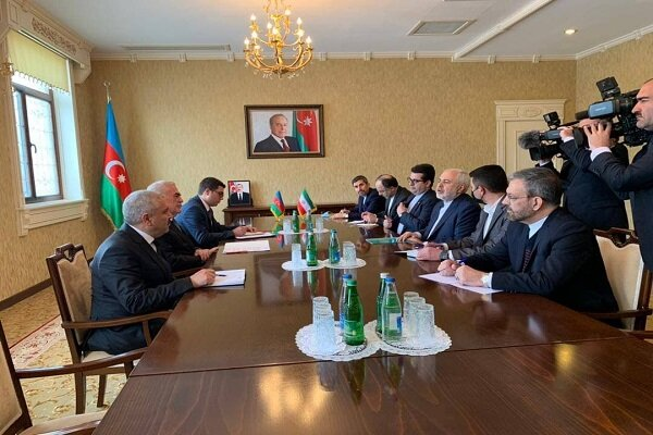 FM Zarif meets Nakhichevan's head of Supreme Assembly