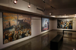 """""""Victory Days"""" painting expo. opened"""