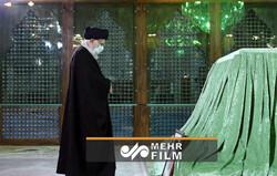 حضور رهبر انقلاب در مرقد مطهر امام خمینی(ره)