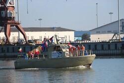 رژه شناورهای دریایی در انزلی برگزار شد