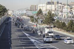 تمهیدات پلیس شرق تهران برای راهپیمایی خودرویی ۲۲بهمن تشریح شد