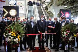 Inauguration of projects at Mehrabad Airport