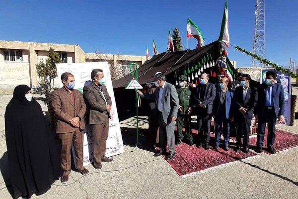 زنگ انقلاب در زادگاه سردار شهید سلیمانی نواخته شد