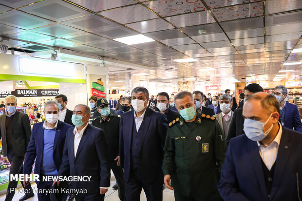 Inauguration of Mehrabad Airport projects