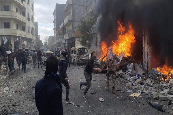 Powerful blast rocks northwestern Syria