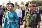 """المجلس العسكري في ميانمار يحاكم زعيمة البلاد المخلوعة """"سو تشي"""""""