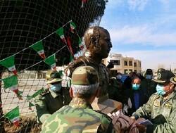 سردیس شهید سرلشکر خلبان ابراهیم فخرایی در مشهد رونمایی شد