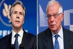 Borrell, Blinken discuss revival of JCPOA: report