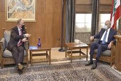 رایزنی رئیس پارلمان لبنان با فرمانده نیروهای یونیفل