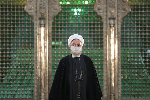 Ruhani'den İslam Cumhuriyeti'nin Kurucusu'na saygı ziyareti
