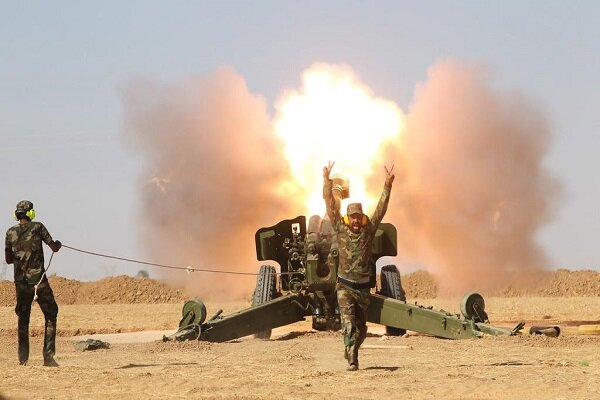 Iraqi forces pounded ISIL positions in Mosul