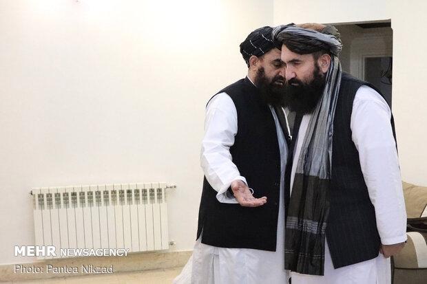 نشست هیات صلح طالبان در تهران