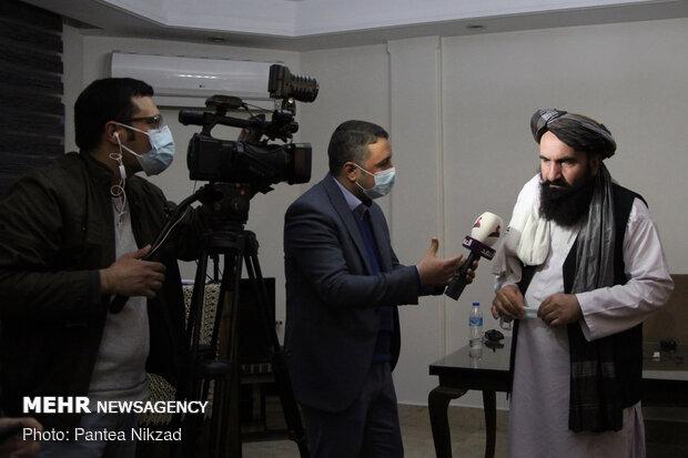 Taliban presser on Afghan peace process in Tehran