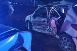 تصادف در کرج یک کشته برجا گذاشت