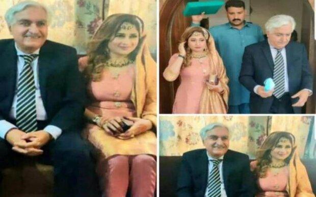 پاکستان کے 80 سالہ سابق وفاقی وزیر کی 21 سالہ دوشیزہ سے شادی