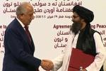 زلمے خلیل زاد کی طالبان دہشت گردوں کی مذاکراتی ٹیم سے ملاقات