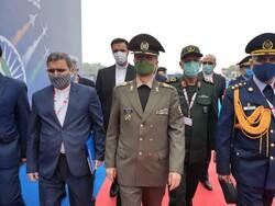 Iranian Defense Min. visits Aero India 2021