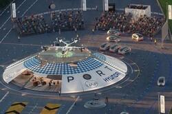 اولین فرودگاه جهان برای تاکسیهای هوایی برقی راه اندازی میشود