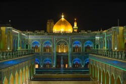 طرح نورپردازی صحن حضرت زهرا(س) به اتمام رسید