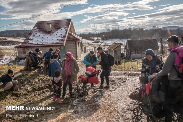 تلاش خانواده مهاجر افغان برای رسیدن به قلب اروپا