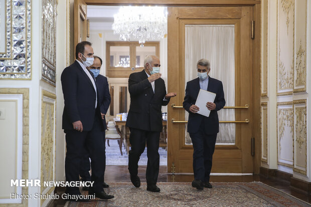 Meeting of Iranian, Iraqi Foreign Ministers in Tehran