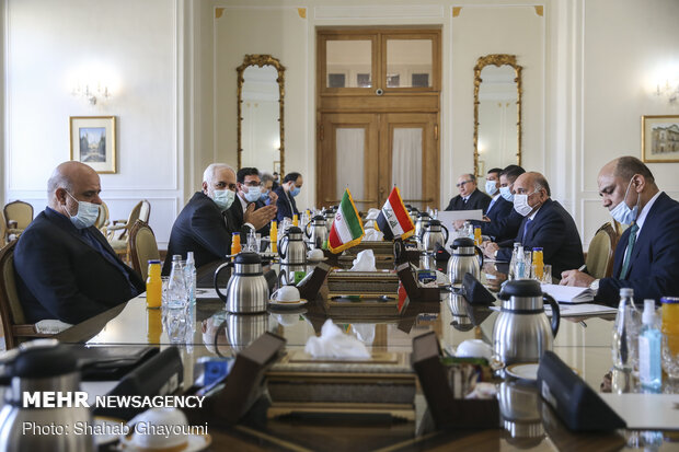 Iraqi FM meets with Iranian counterpart for bilateral talks