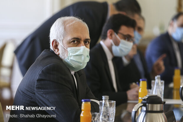VIDEO: FM Zarif meeting with UN Special Envoy for Yemen