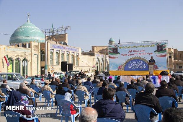 اهدای ۱۲۰ سری جهیزیه به نوعروسان سمنانی