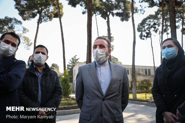 محمود واعظی رئیس دفتر رئیس جمهور