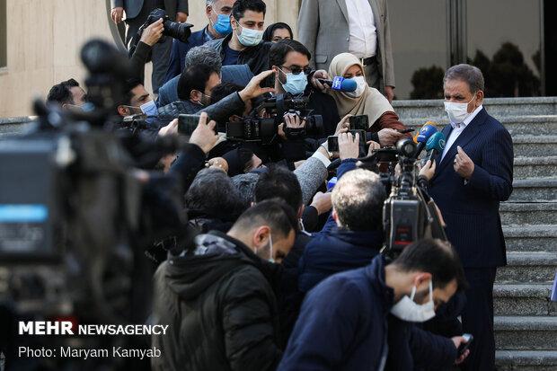 اسحاق جهانگیری معوان اول رئیس جمهور