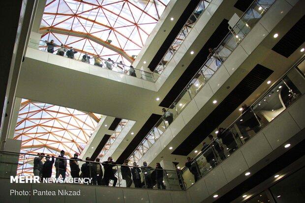 مراسم افتتاح ضلع شمالی ساختمان پلاسکو