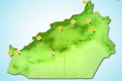 «باران و برف» مهمان مردم استان سمنان/ بارش و کاهش دما در راه است