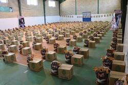 اهدای بسته معیشتی به خانوادههای آسیب دیده کرونایی دانشگاهیان