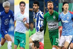3 Iran int'l footballers land in AFC list of player of week
